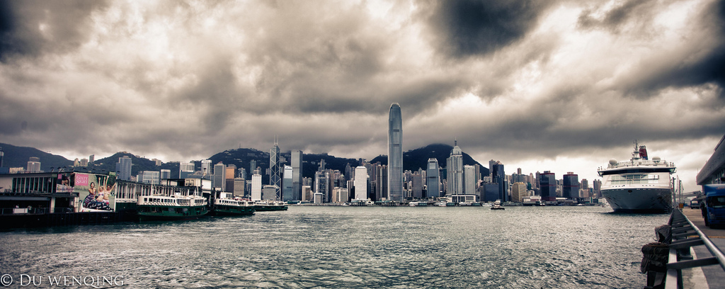 Thunder storm in Hong Kong, photo courtesy of Michael Du