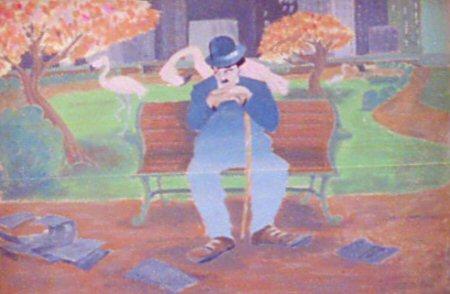 The Chaplin Mural