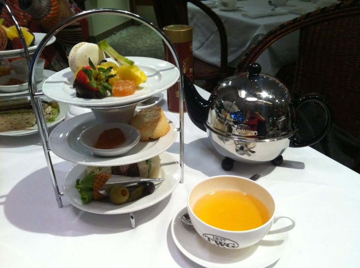 Delightful afternoon tea at Urban Tea Merchant