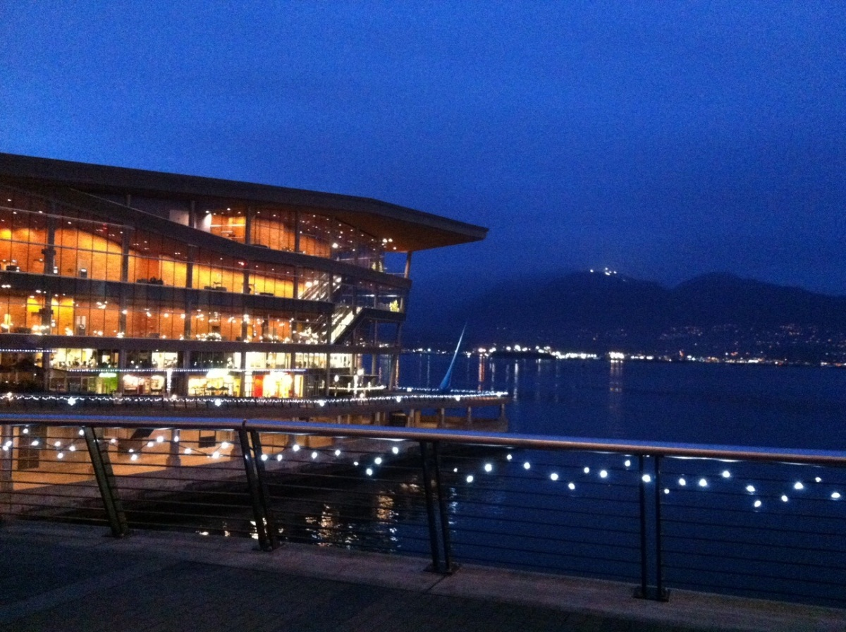 Beautiful convention centre at the waterfront