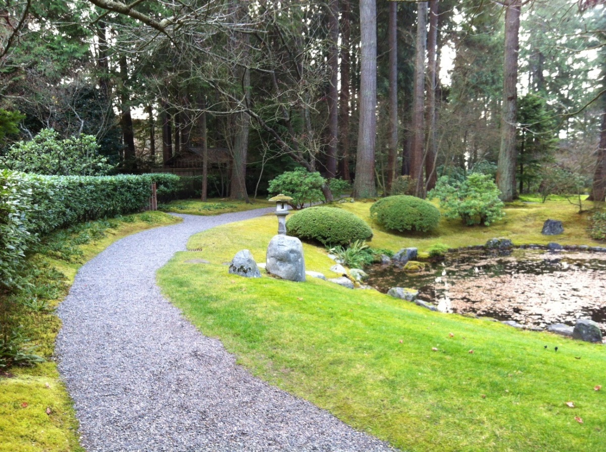 UBC Japanese garden path 1