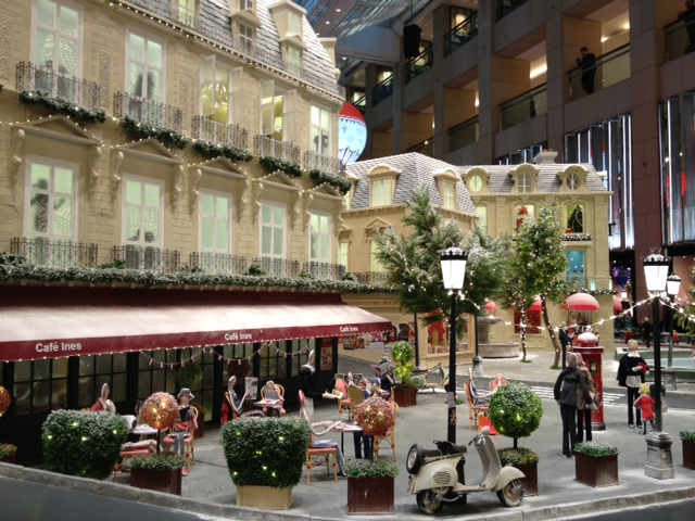 Parisian Cafe - looks real?