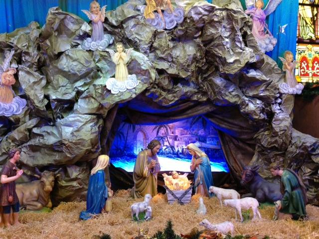 Crib At The HK Catholic Cathedral