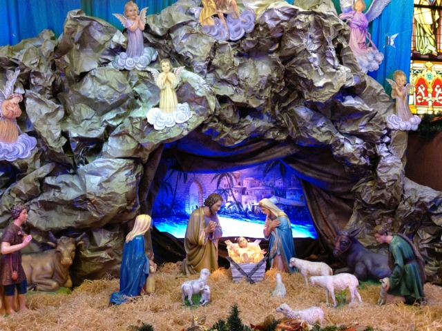 Crib at the HK Catholic Cathedral