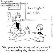 Podcast cartoon 2