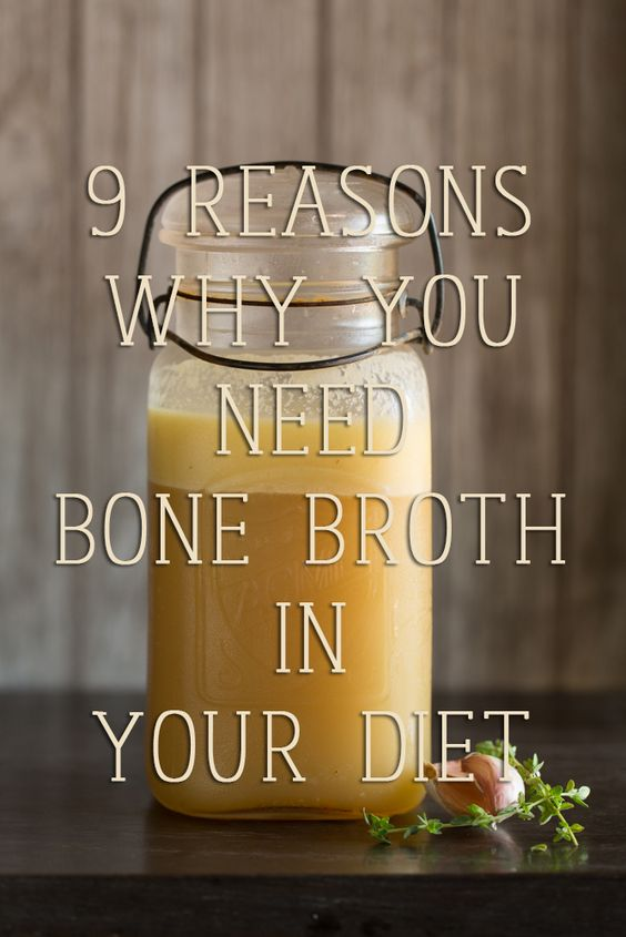 Bone Broth reasons